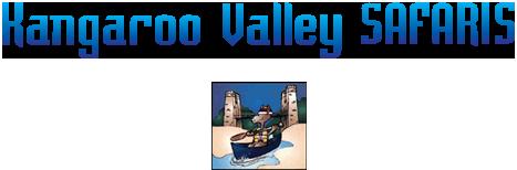 kangaroo valley canoes logo